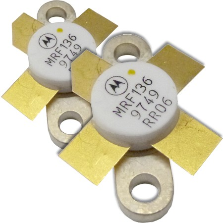 MRF136MP Transistor/Matched Pair, Motorola, 15 watt, 28v, 400 MHz