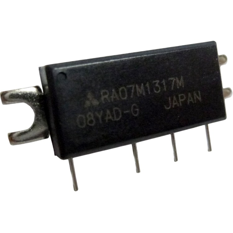 RA07M1317M RF Module, 135-175 MHz, 7 Watt, 7.2v