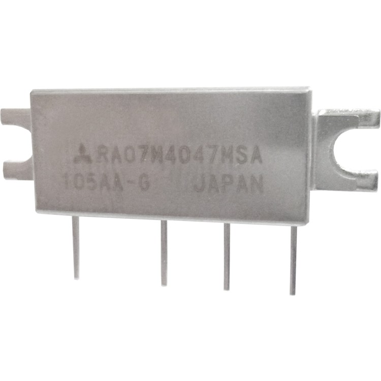RA07M4047MSA RF Module, 400-470 MHz, 7 Watt, 7.2v, Metal Case
