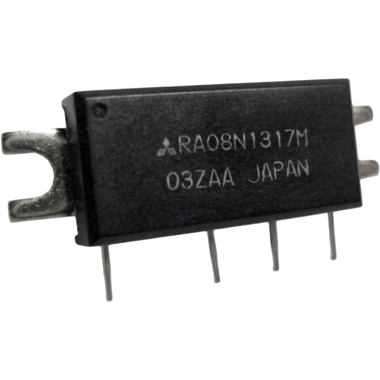 RA08N1317M RF Module, 135-175 MHz, 8 Watt, 9.6v