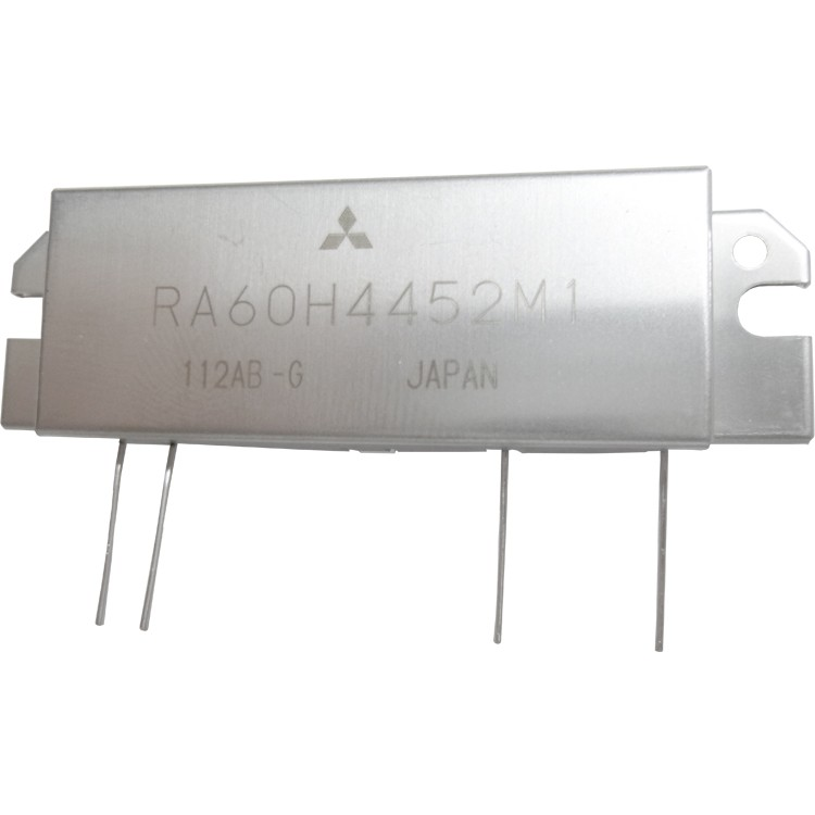 RA60H4452M1 RF Module, 440-520 MHz, 60 Watt, 12.5v, Metal Case
