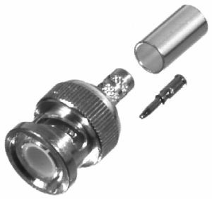 RFB1106-2ST BNC Male Crimp Connector