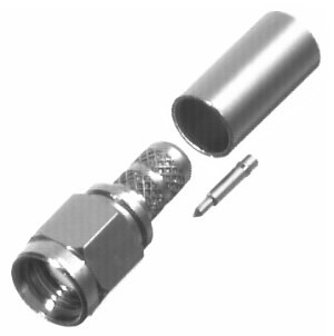 RSA3000-C1 SMA Male Crimp Connector