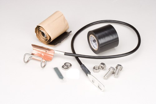 SGL5-06B2 - Grounding Kit for 7/8&quot; Heliax coaxial cable