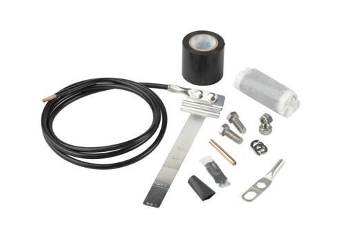 "UG12158-15B4 - Universal Grounding Kit for 1/2"" - 1-5/8"" Corrugated Coax Cable"
