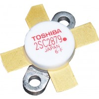 "2SC2879A - ""Red Dot"" Pb Free RoHS compliant Toshiba Transistor"