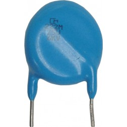 0022-6KVHDB  HIgh Voltage Capacitor, .0022uf / 6KV, Radial Lead