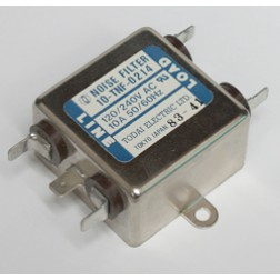 10-TNF-0214  Noise Filter, 10amp, 120/240vac