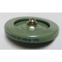 1000-4 Doorknob Capacitor, 1000pf 4kv, Radio Komponent