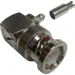 112178 Male Crimp Connector,  Right Angle, APL/CON