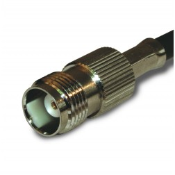 122122 TNC Female Crimp Connector,Straight, , APL/CON