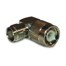 122352 IN Series Adapter, TNC Male to Female, Right Angle, APL/CON