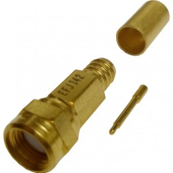 142-0361-001 - SMA Male Crimp Connector, Straight, EFJ
