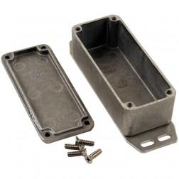 BOX1590AF Diecast box w/ flange