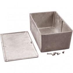 BOX1590E Diecast box, 7.387 x 4.7 x 3.23