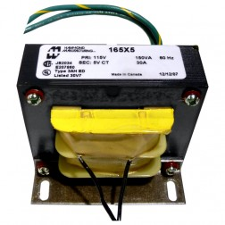 165X5  5.0 vct 30 amps primary 115v