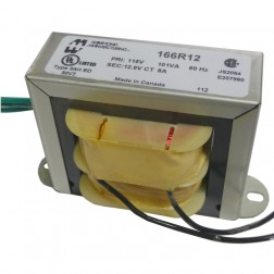 166R12 - Transformer 12.6vct at 8a