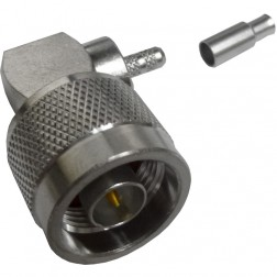 172180 - Type N Male Right Angle Crimp Connector, APL/CON