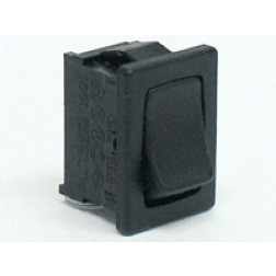 1801 Rocker Switch, SPST, 6a 250vac
