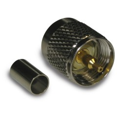 182115 UHF Male Crimp Connector