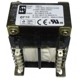 185E10 Transformer, Dual pri 115/230 vac 50/60hz