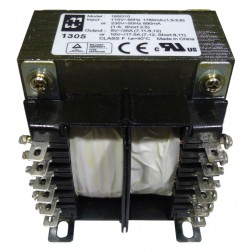 185G10 Transformer 10vct at 17.5a Or 5v at 35a; 115 or 230 vac