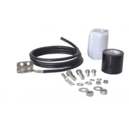 "223158-4 Grounding kit w/2 hole lug For 1/4"" and 3/8"" cables"