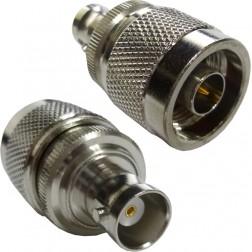 242121  Type-N Between Series Adapter, Type-N Male to BNC Female, Amphenol/CON