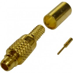 262101 - MMCX Male Crimp Connector, Straight, AMP/CON,