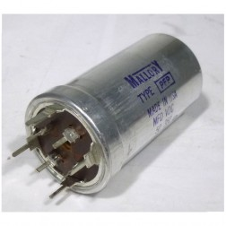 270099-24 Capacitor, electrolytec can, Four section cap,twist mnt, Mallory