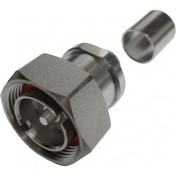 272108 - 7/16 DIN Male Crimp Connector