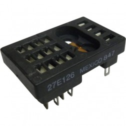 27E126 - 16 Contact Relay Socket
