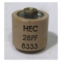 580028-5P Doorknob, 28pf 5kv