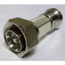 2D5W-3 7/16 DIN Attenuator, 5 watt, 3dB, Aeroflex