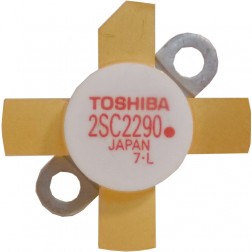 "2SC2290A - ""Red Dot"" Pb Free RoHS compliant Toshiba Transistor, Tested Single part"
