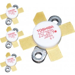 2SC2879AMQ - Matched Set of 4 &quot;Red Dot&quot; RoHS compliant Toshiba Transistors