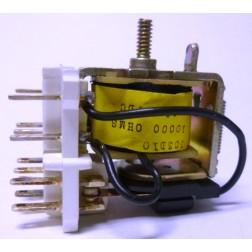 303D10  Relay, Open Framce, 3PDT, 110vdc 10 amp, 10k ohm, CDE