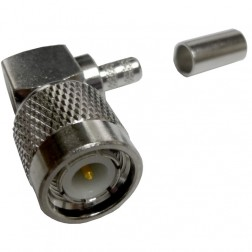31-5849-RFX - TNC Male Right Angle Crimp Connector, APL/RF