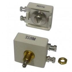 310M  Trimmer Capacitor, compression mica, 615-1600PF