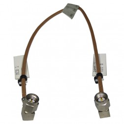 "316RSMRSM-12  Pre-Made Cable Assembly, 12"" RG316 with Right Angle SMA on Both Sides"