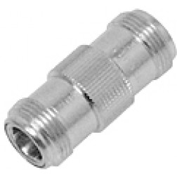 31N-50-0-2 Type-N IN Series Adapter, Female to Female Barrel, Huber/Suhner