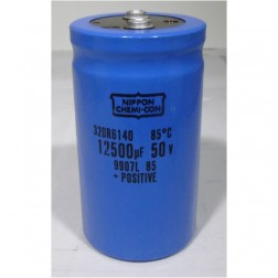 32DR6140 Capacitor, 12500uf 50v Mfg: chemicon