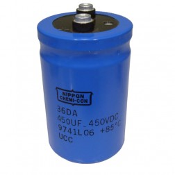 36DA450-450 Capacitor, 450uf 450v, Chemicon