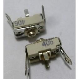 406 Trimmer, compression mica, 25-115 pf