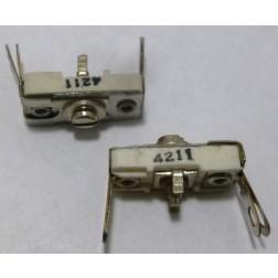 4211 Trimmer Capacitor, compression mica, 150-500 pf