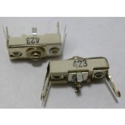 423 Trimmer Capacitor, compression mica, 16-100 pf