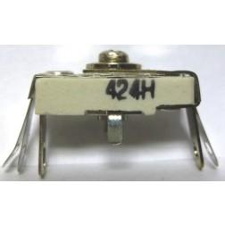 424 Trimmer Capacitor, compression mica, 25-150 pf