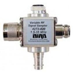 4273-020 1.5-35 MHz, THRULINE® Variable RF Signal Samplers , Type-N Male/Female, Bird Electronics