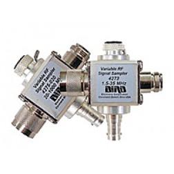 4275-020  20-1000 MHz, THRULINE® Variable RF Signal Sampler, Type-N Male / Female, Bird Electronics
