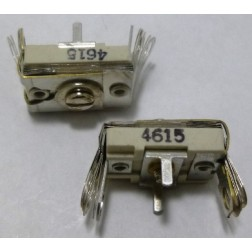4615 Trimmer Capacitor, compression mica, 420-1400 pf